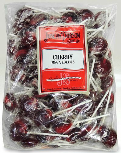 DOB12 DOBSONS WRAPPED CHERRY LOLLY